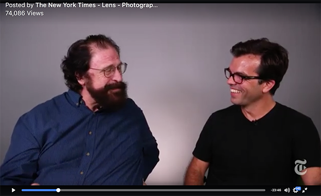 September 15 –  The New York Times Lens Blog :   Facebook Live conversation with NYT Lens Blog editor, James Estrin