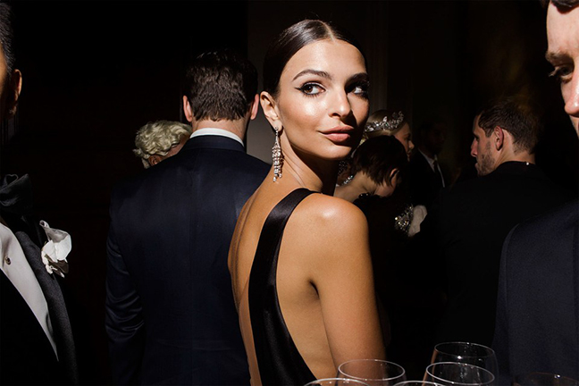 April 18 - Vanity Fair   Landon's photograph of Emily Ratajkowski featured