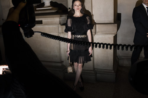 December 5 - Chanel for The New York Times   Landon photographs the Chanel Métiers d'Art show at The MET