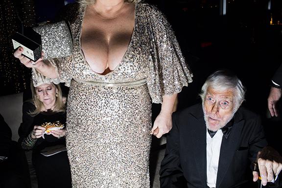 February 24 - Vanity Fair   Landon shoots inside the Vanity Fair Oscars party