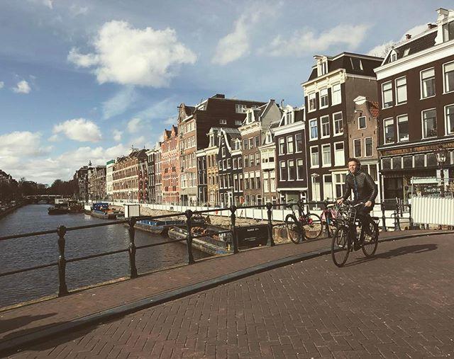Rad day in Amsterdam!