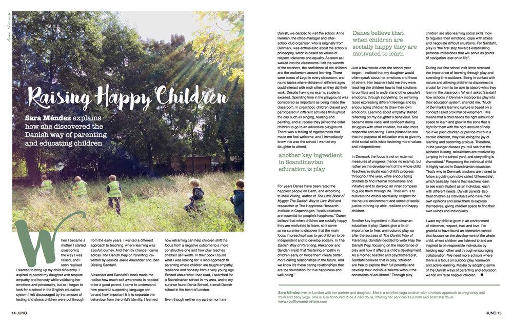 Article published on JUNO magazine Issue 53  www.junomagazine.com