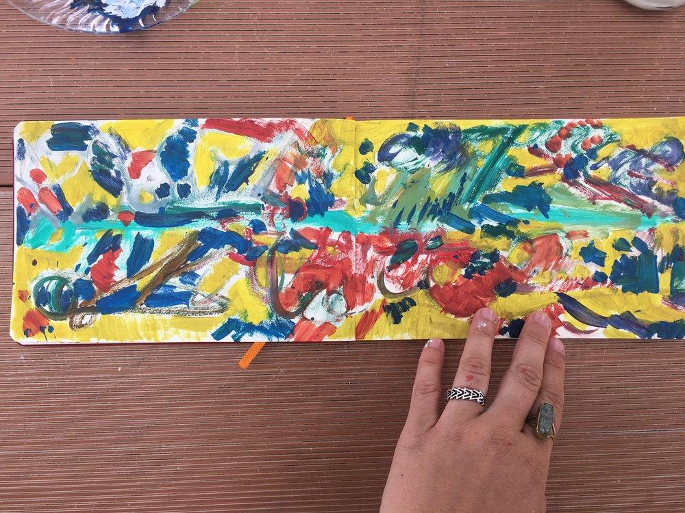 Leftover paint #1