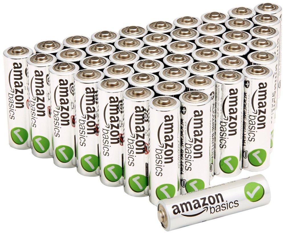 Amazon Alkaline Batteries