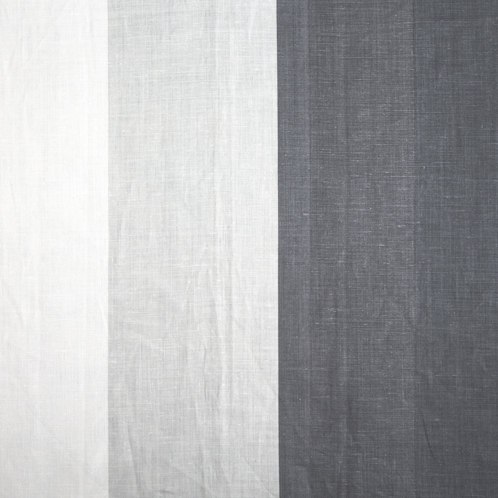 OMBRE | BLUE ON IVORY LINEN