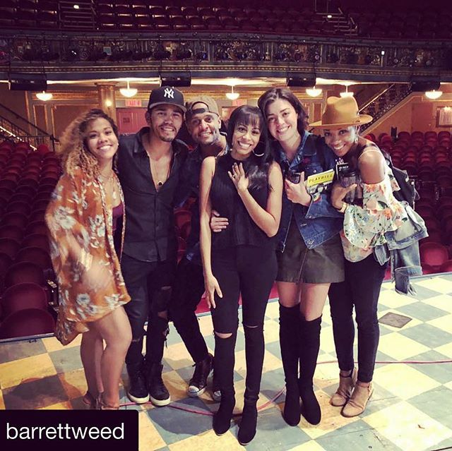 """Nothing makes me happier than when Nic gets SEEN. @barrettweed this was so sweet. And I couldn't agree more.  #Repost @barrettweed with @get_repost ・・・ Those of us who are serious acting junkies have known for a long time about the unbelievable magic of Nicolette Robinson. She is a master actress. It's hard to put into words exactly what makes her so amazing to watch but I will try. She is incredibly strong and incredibly vulnerable at once. She is so real and ego free in her performance that it feels like a spotlight is constantly shining right on her. She goes from calm to rage so quickly and skillfully that it seems like a magic trick. That is how real people behave. She is incredibly beautiful and unafraid to be ugly or do ugly things for the sake of storytelling.  If you've seen waitress, if you're a fan of the show, you have to see Nicolette play Jenna. I am not exaggerating when I say that I started weeping five minutes in and continued sobbing for the entire show. I had to squeeze both of my hands over my mouth so I wouldn't disturb the people around me. And then I realized that everyone around me was doing the same thing. Every old white man who got dragged to waitress with their family ended up bawling their eyes out and reflecting on their life and relationships and honestly that was the coolest thing to see. This woman's performance is unmissable. I feel incredibly fortunate to call her my friend. I feel even more fortunate to get to learn from her incredible talent and her phenomenal skill. The skill set she has built for herself is unparalleled. I could discuss her voice at length too but all you need to know is that it's fucking gorgeous.  I am so glad that the powers that be in our industry are finally beginning to understand that race is not a type. It doesn't dictate an actor's ability to portray a life. When you lay it out like that, you want to yell """"of course!"""" But it's been VERY hard for people to understand that very simple concept for a long """