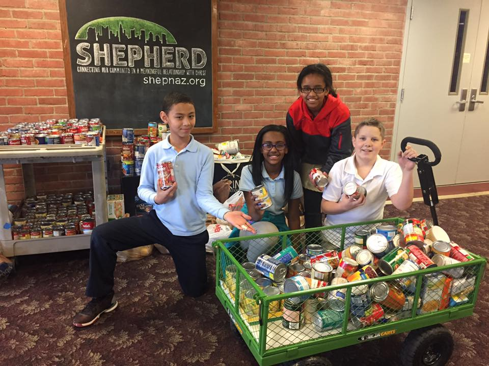 Shepherd Partners with Gahanna Residents in Need