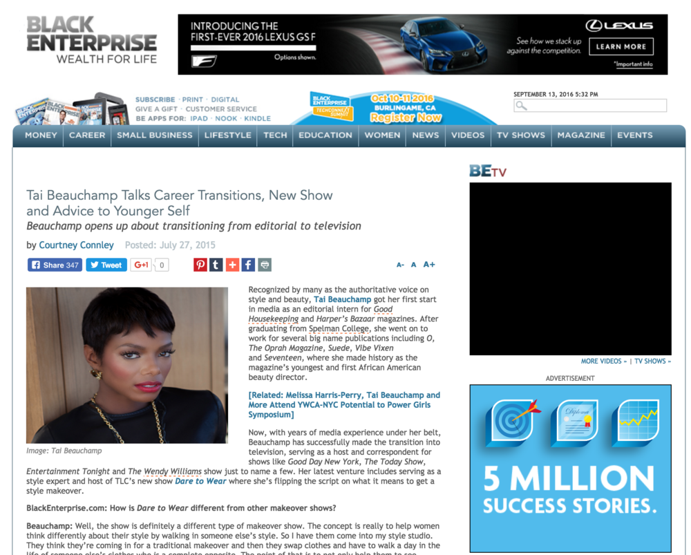 BLACK ENTERPRISE July 2015