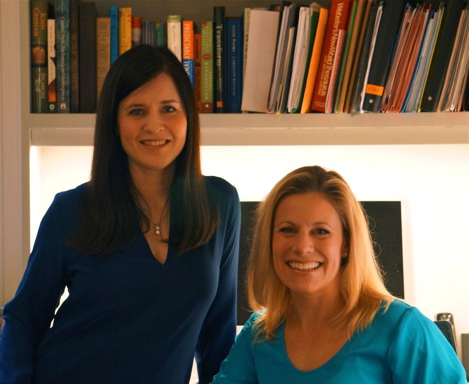 IAmElemental co-founders Julie Kerwin, left, and Dawn Nadeau. (Photo courtesy of IAmElemental)
