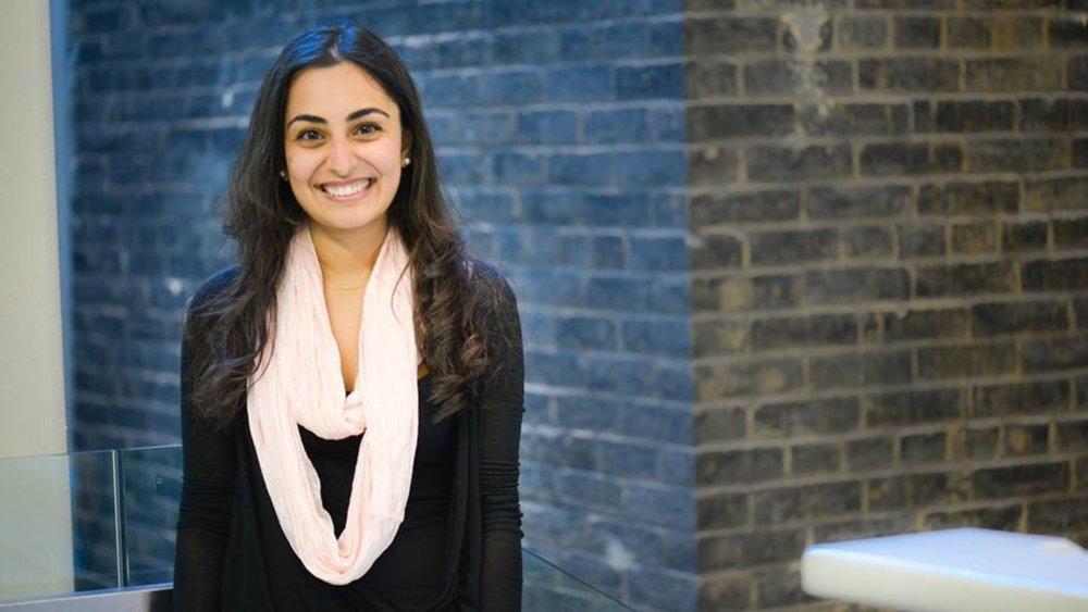 22-year-old Salima Visram, the inventor of the Soular Backpack. (Photo courtesy of Salima Visram)