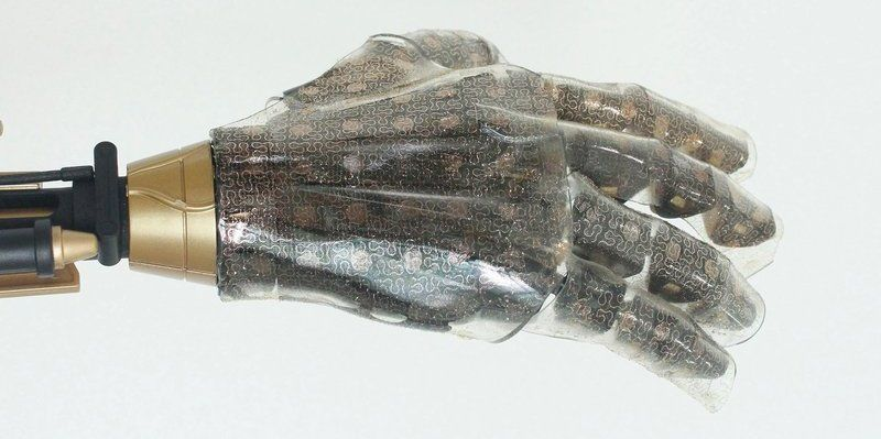 Although smart skin is not ready for human use yet, sensor tests for heat, cold and moisture show promise.