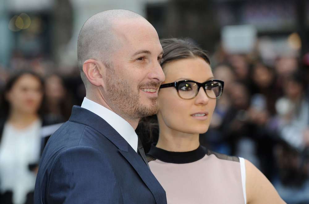 Darren Aronofsky & his wife, Brandi-Ann Milbradt
