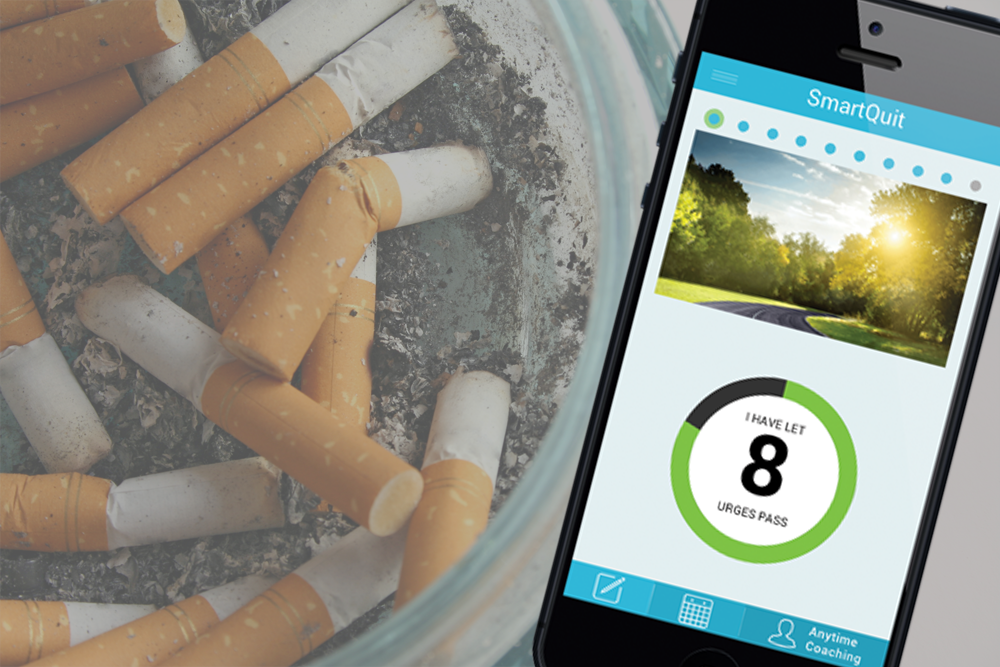 As the Great American Smokeout kicks off today, smokers who want to kick the habit may have hope in an innovative new app called SmartQuit.