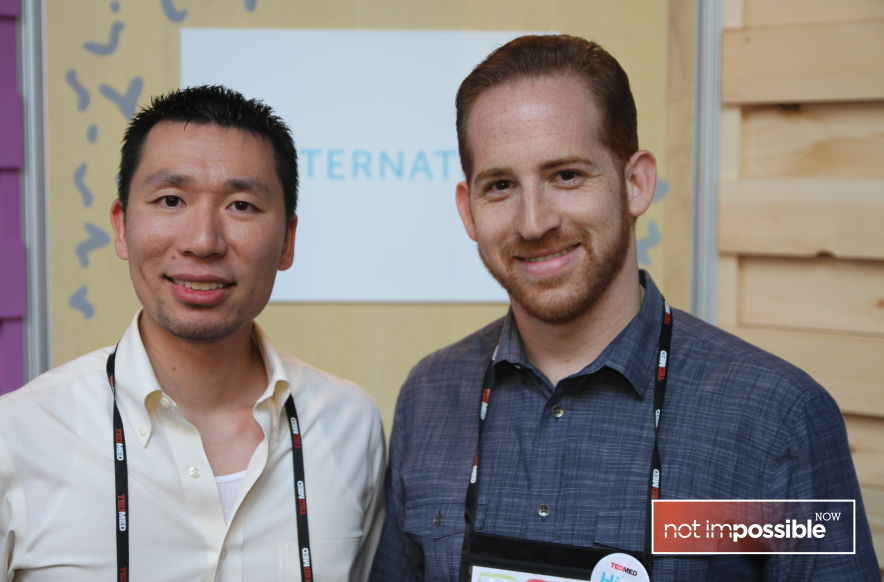 Steven Lee and Aaron Hallek - making eye-care more accessible.