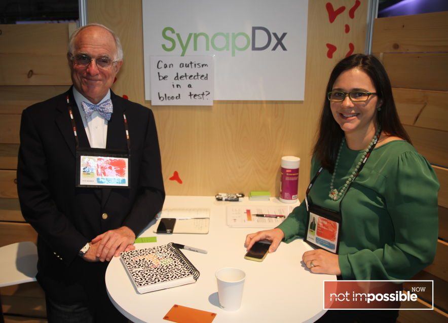 SynapDx co-founders Dr. Stanley Lapidus and Theresa Tribble