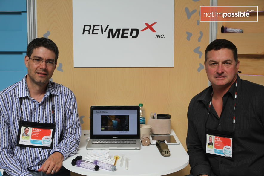 RevMedX's Andrew Barofsky and John Steinbaugh at TEDMED's The Hive