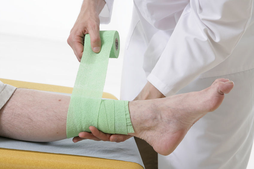 Photo Credit: © JPC-PROD - Fotolia.com   Robert Gourdie of the Virginia Tech Carilion Research Institute stumbled upon a new and faster way to heal leg ulcers while researching the electrical signals that trigger heartbeats. He developed a peptide called ACT1 that heals wounds and, more notably, can heal venous leg ulcers twice as fast as the current methods.  Venous leg ulcers occur when there is too much pressure on leg veins. This causes the tissues to break down, which leads to painful open wounds that are difficult to heal, especially for the elderly.  As Tumotech notes, in a clinical trial testing the peptide, participants had ulcers the average size of 3.5 cm, which had been open for about 17 months. For the group using ACT1, 79 percent of ulcers closed after 12 weeks of application and compression bandage treatment. These results were 36 percent better than those using the standard treatment. None of the patients in the ACT1 group reported any side effects.  Next, FirstString Research will be holding phase 3 trials to get FDA approval for ACT1.