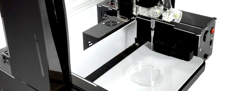 "Photo Credit: Bio3D   A Singapore-based company wants to make 3D bioprinting available to the masses. They've designed a printer called the Life Printer X, which say they is affordable and can print objects using both synthetic and biological materials. As Plastics Today notes, this would allow users to print items like cell-infused scaffolds. The Bio3D website describes Life Printer X as ""the first modular bioprinter to give you the options and ultimate versatility to use bio- and microprinting affordably in any life science, chemistry, and engineering studies."" The printer has different modules that can be swapped in and out depending on what users are printing, allowing anything from cells, and antibodies to plastics to be printed during the same session.  The Life Printer X can be leased for $2,390."