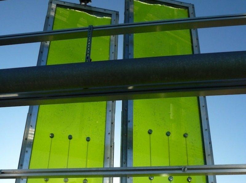 Algae Energy Panels at the BIQ Building