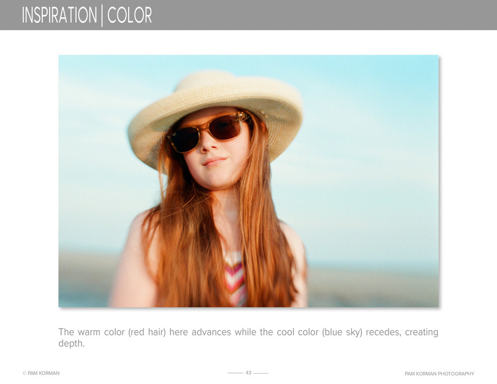 mastering using color in photography, using light in photography