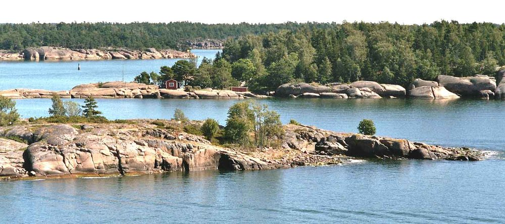 Stockholm archipelago in summer