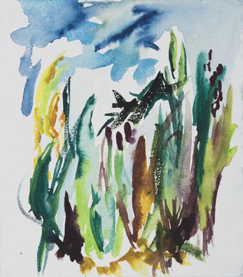 Wet Landscape #4