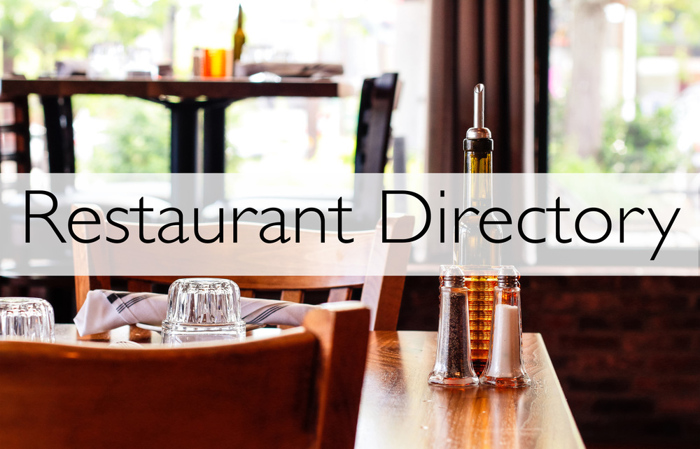 cLICK FOR OUR RESTAURANT DIRECTORY