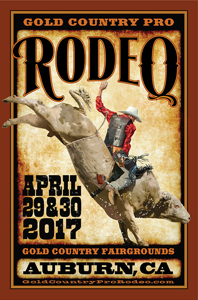 2017 Gold Country Pro Rodeo, Auburn, CA