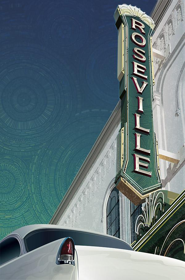Roseville Theatre, Roseville, California