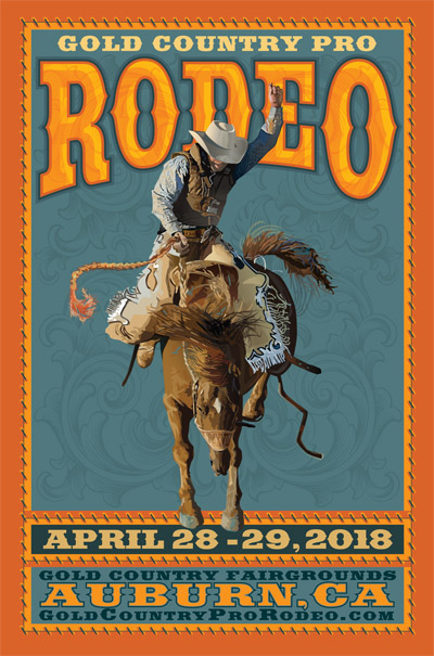 2018 Gold Country Pro Rodeo, Auburn, CA