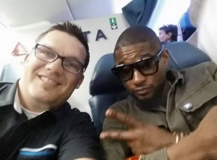Secret Formula: Upgrade to first class, meet Usher. It's that simple.