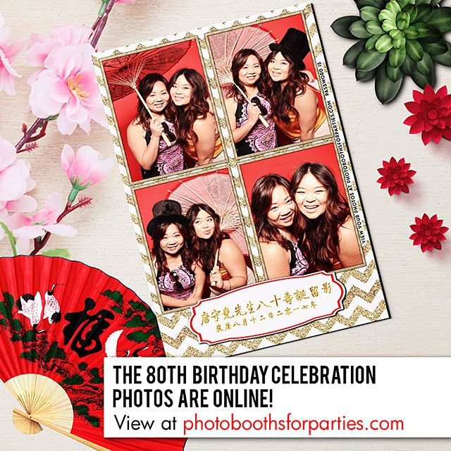 80th Birthday Celebation photos are online! Click our profile page to get our website link or enter www.photoboothsforparties.com in your browser. #photoboothsforparties #photobooths4parties #talaevents #photobooth #photoboothla #photoboothoc #bestphotobooth #photoboothprints #laphotobooth #laphotoboothrentals #orangecountyphotobooth