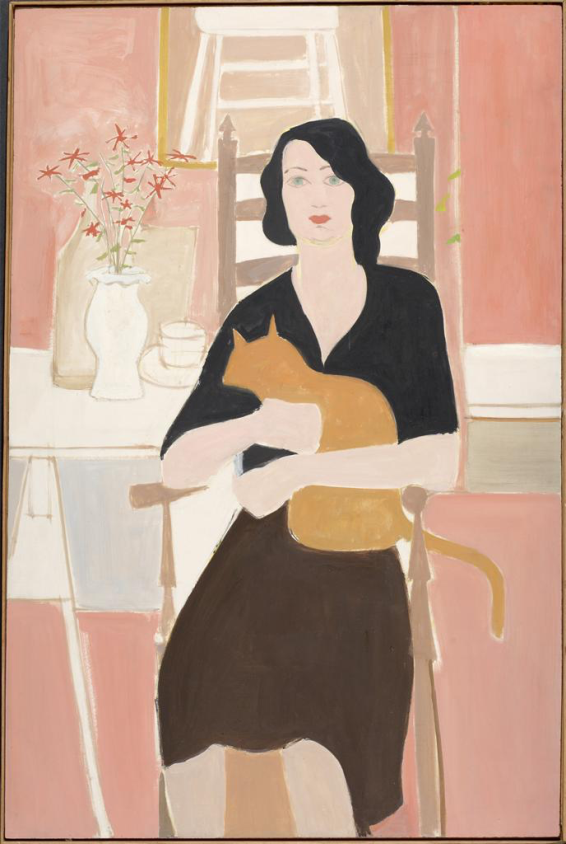 Jean (1953). Oil on masonite, 48x34 inches. Colby College Museum of Art, Waterville, ME.
