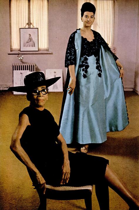 Ann Lowe in  Ebony  (December 1966), p. 136