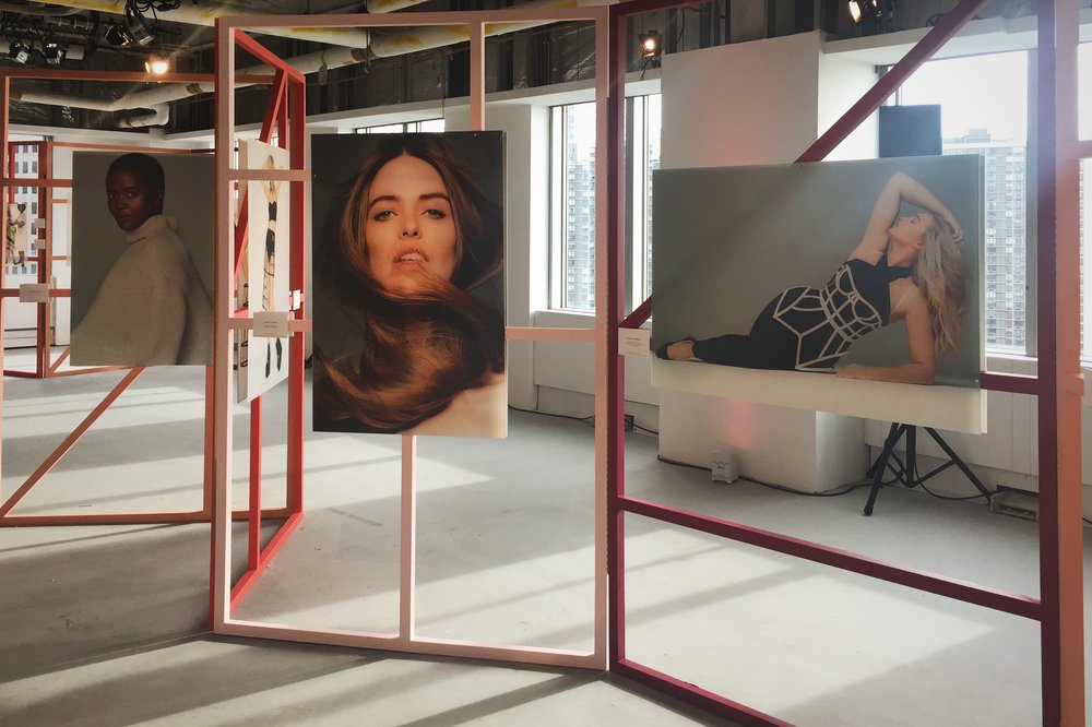 Anastasia Garcia's pop-up photo exhibition at the Every Beautiful Body Symposium. Image courtesy Lauren Downing Peters.