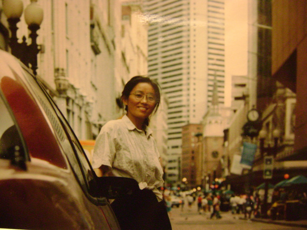 Elena's mom in the 1980s, after Mao instituted the Open Door policy. Image courtesy the author.
