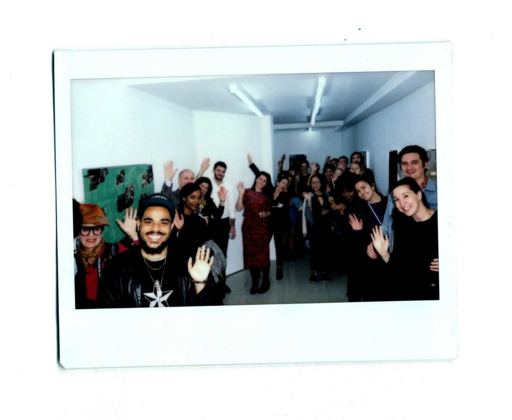 It's you! Our wonderful community!    We owe a huge thank you to everyone who turned out for our October launch party, as well as to Chris Rawson for lending us his gallery space,  Rawson Projects . Enjoy more photos from the launch in our analog-turned-digital guestbook below.