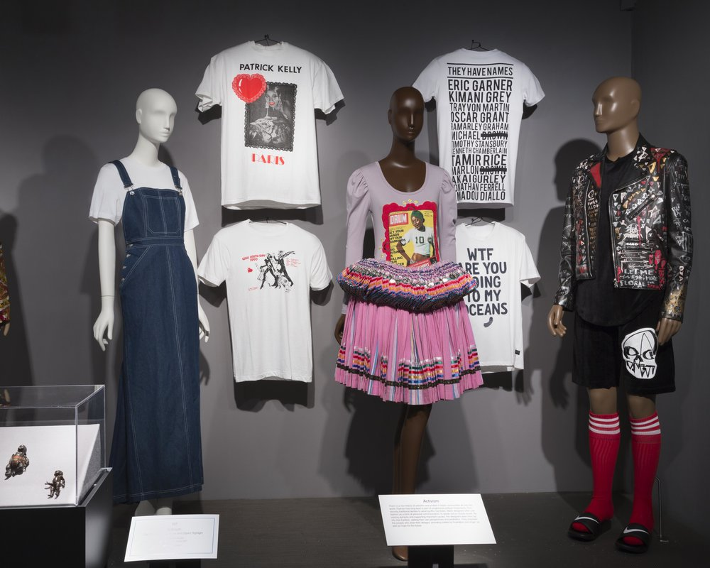 Black Fashion Designers installation view. Photo by Eileen Costa. Courtesy The Museum at FIT.