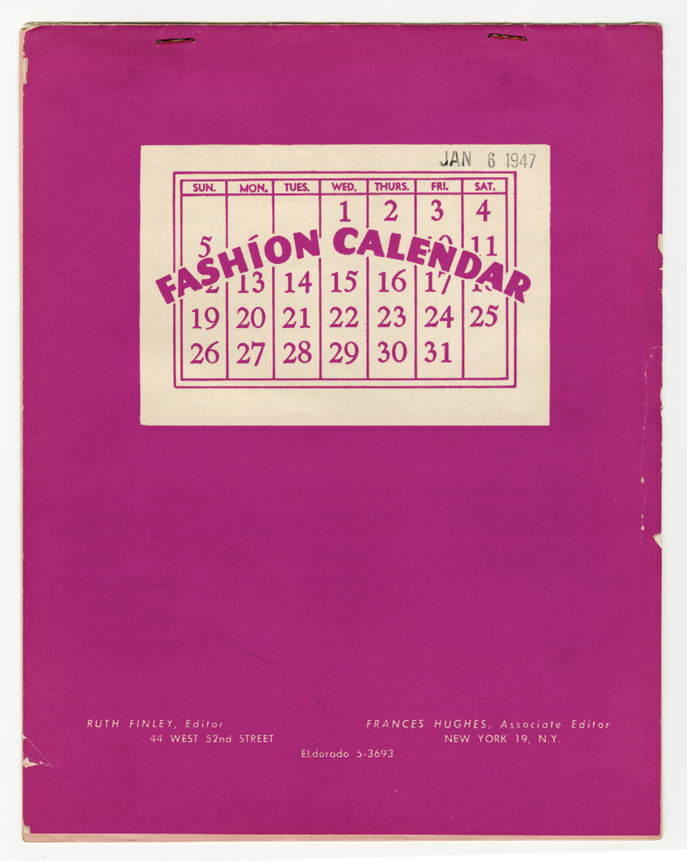 Image provided by the author. Courtesy of Special Collections at The Fashion Institute of Technology.