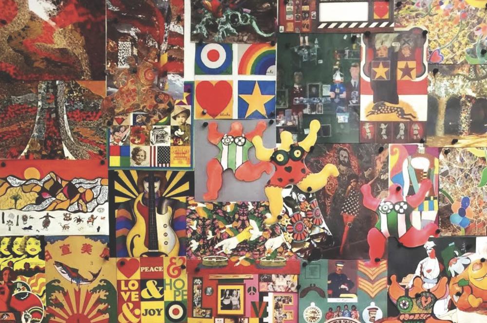 Anna Sui Mood Board, Fall 2016. Courtesy the Fashion and Textile Museum.