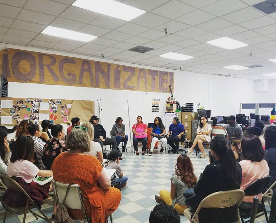Photo courtesy Garment Worker Center.