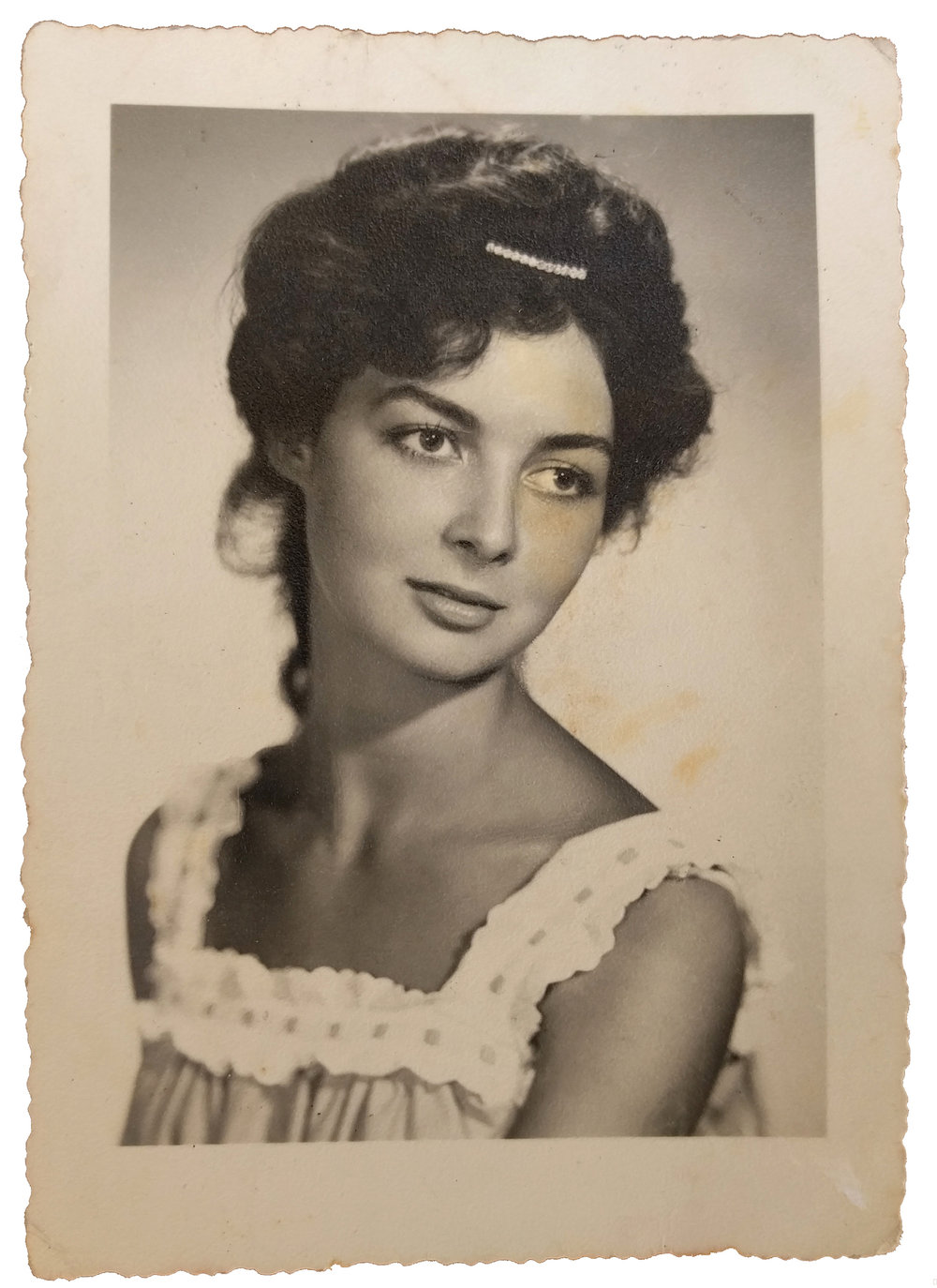 Young Cosetta Bimbi, August 1960. Image courtesy of the author.