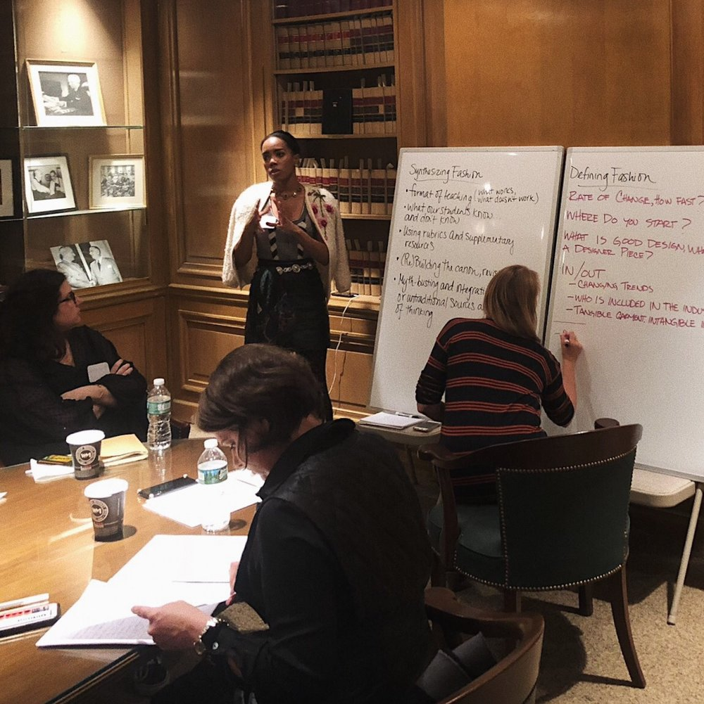 Photo from the FSA Workshop at Lehman Center for American History at Columbia University. Image courtesy of the author.