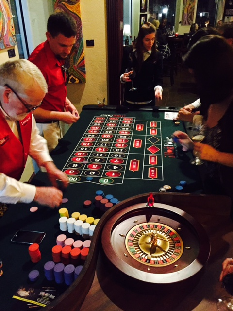 Casino Night; Tasting Room