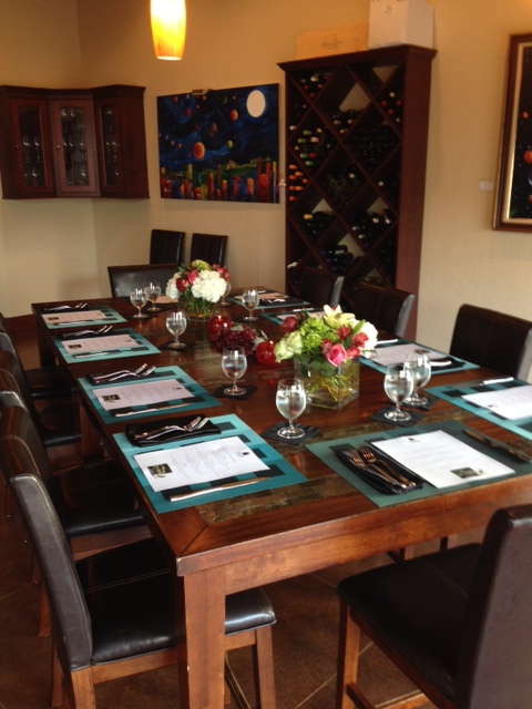 Dinners and Classes: Tasting Room