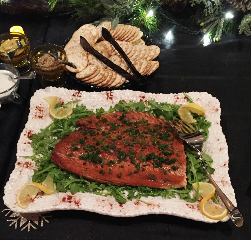Half Order Salmon Filet