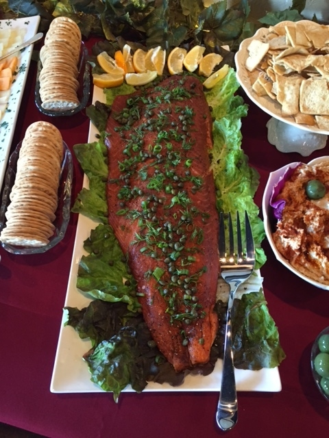 Oak-Smoked Salmon Filet