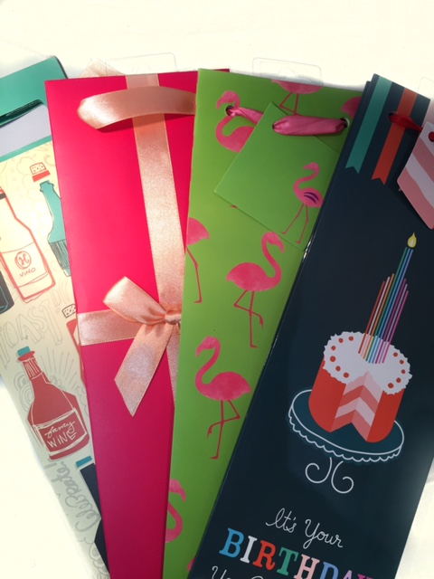 Gift Bags (Assorted) $2.95 single/$4.95 double