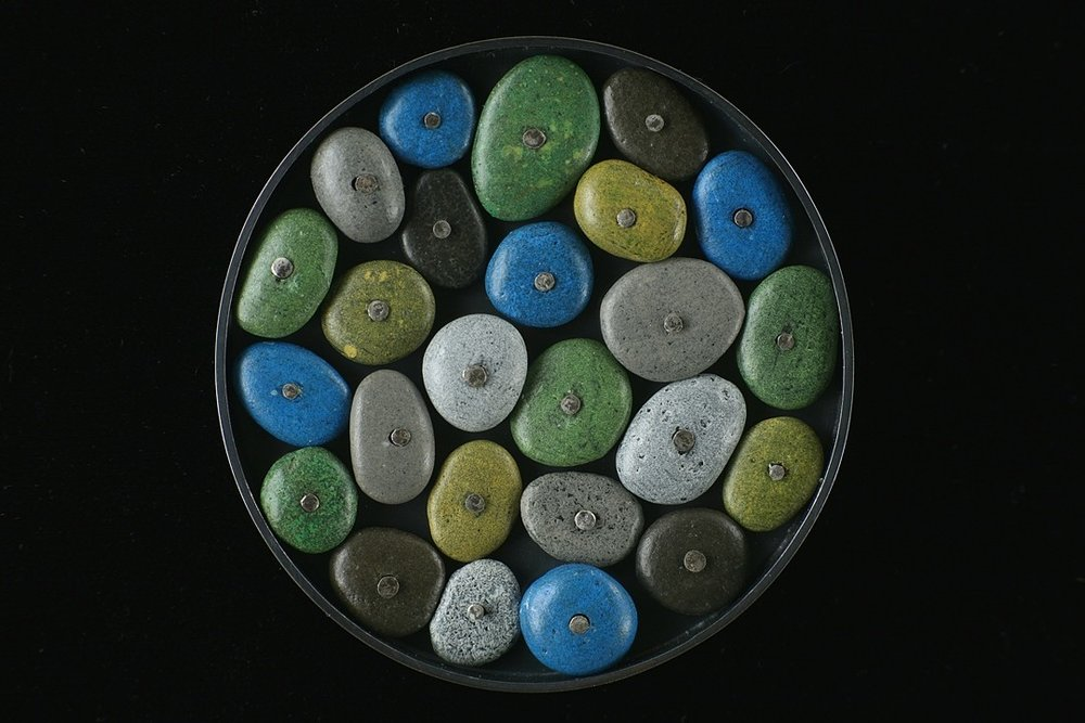 blue series brooch