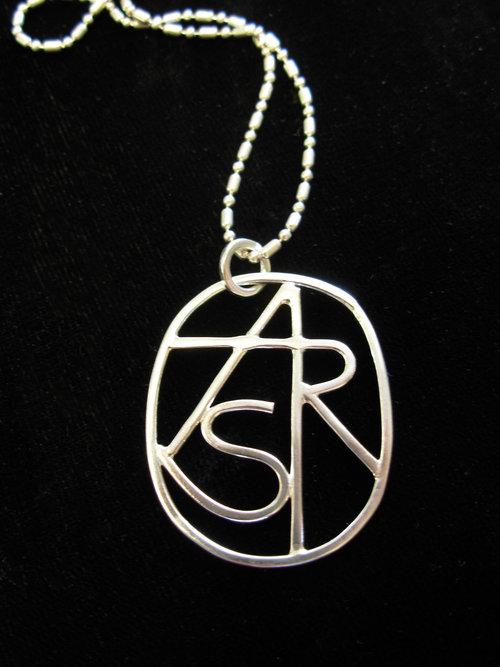 Create your own deborah boskin monogram necklace 2g aloadofball Images